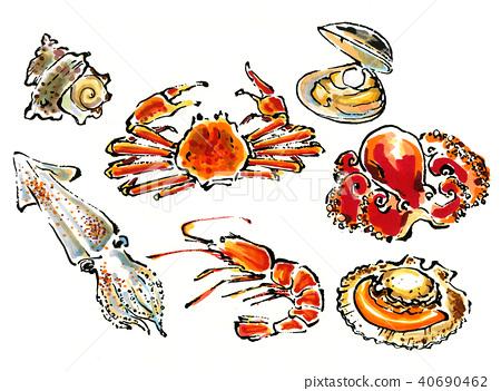 食物 食品 海鲜 40690462