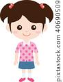 人家庭(女/小學)正常的衣服 40690509