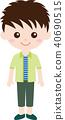 人家庭(男生,中學生和高中生)便衣 40690515