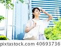 Business woman (summer) 40693736