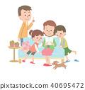 家庭 家族 家人 40695472