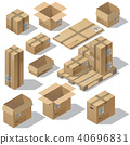 vector 3d isometric 40696831