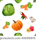 vector pattern cabbage 40696845