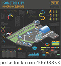 3d isometric airport and city map constructor 40698853