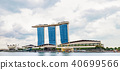 View of Marina Bay seen from the pier, Singapore 40699566