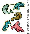 aquatic, animals, marine 40703764