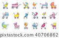 baby carriage set 40706862
