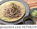 บะหมี่โซบะญี่ปุ่น 40708249