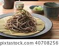 บะหมี่โซบะญี่ปุ่น 40708256