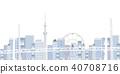 海湾桥梁桥梁东京背景 40708716