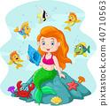 幸福 快樂 美人魚 40710563