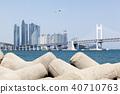 비행기,광안대교,마린시티,수영만,수영구,해운대구,부산 40710763