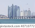 비행기,광안대교,마린시티,수영만,수영구,해운대구,부산 40710772