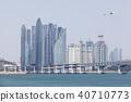 비행기,광안대교,마린시티,수영만,수영구,해운대구,부산 40710773