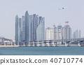비행기,광안대교,마린시티,수영만,수영구,해운대구,부산 40710774