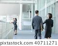 商人性別兩人企業場面辦公室場面 40711271