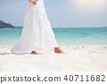 海滩 女性 女 40711682