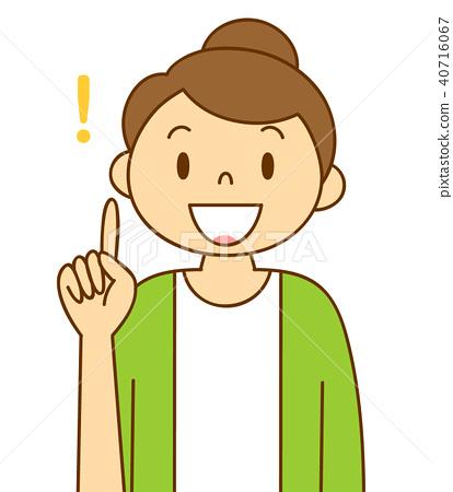 female variation wrinkle index finger stock illustration 40716067 pixta female variation wrinkle index finger