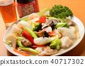อาหารจีนอาหารทะเลและผักผัดและสุรา Shaoxing 40717302