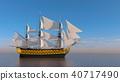 水手 帆船 海 40717490