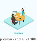 Job interview concept.  40717806