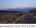 長野縣伊那市Mimogawa Central Alps遠景 40722581