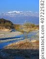 長野縣伊那市Mimogawa Central Alps遠景 40722582
