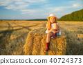 girl hay hat 40724373