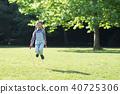 girl, Jumping, Rope 40725306