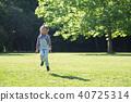 girl, Jumping, Rope 40725314