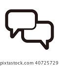單調圖標(系列) 40725729