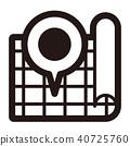 單調圖標(系列) 40725760