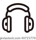 모노톤 아이콘 (시리즈) 40725770