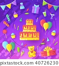 gift, welcoming, vector 40726230