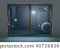 Sliding window space of the hotel 40726836