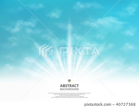 Abstraction of summer sun light effect 40727368