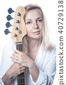 female, bass, woman 40729138