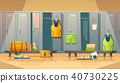 Vector locker, changing room for sports, gym 40730225