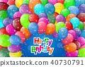 氣球 慶生 生日 40730791