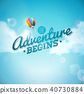 adventure background illustration 40730884