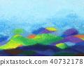 수채화 물감, 수채화, 그림 40732178