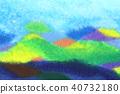수채화 물감, 수채화, 그림 40732180