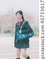 高中生 女孩 少女 40733617