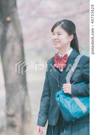高中生 女孩 少女 40733629