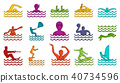water sport icon 40734596