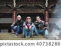 外国人观光寺庙画象 40738286