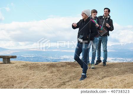 白人 外国人 男性 40738323