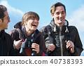 外国人喜欢徒步旅行 40738393
