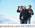 徒步旅行的外国人观点 40738424