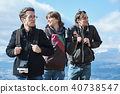 徒步旅行的外国人观点 40738547